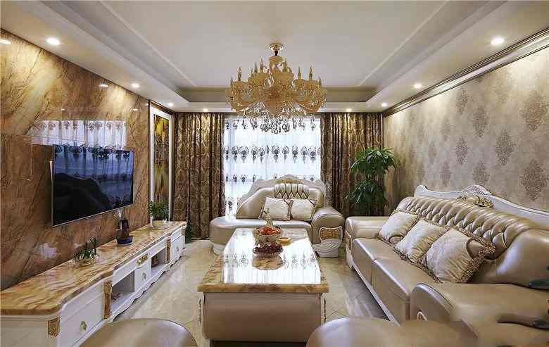 东南亚风格别墅客厅装修效果图欣赏