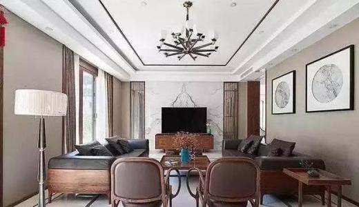 恩施州客厅装修设计及效果图(3)