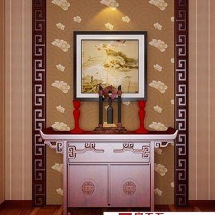 邯郸客厅装修设计及效果图(9)