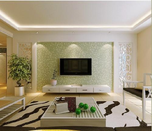 邯郸客厅装修设计及效果图(19)