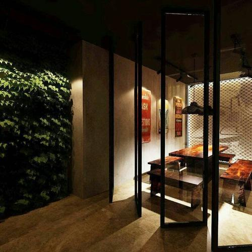 邯郸客厅装修设计及效果图(23)