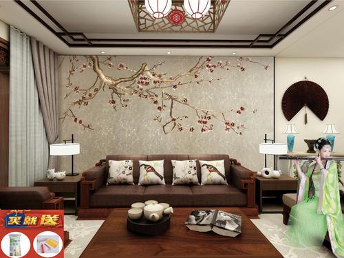 邯郸客厅装修设计及效果图(26)