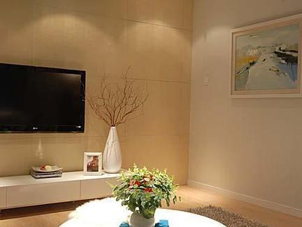 邯郸客厅装修设计及效果图(29)